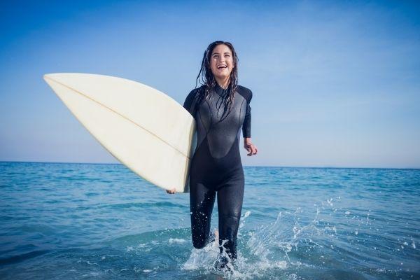women wetsuit